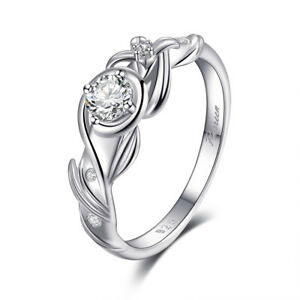 925 Sterling Silver Wedding Ring Full Zircon Female Delicated Engagement Jewelry