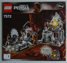 LEGO Instruction Notice Prince Of Persia The Sands Of Time (7572)