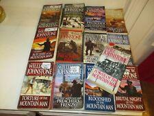 13 WILLIAM W. JOHNSTONE-MOUNTAIN MAN BOOKS