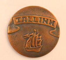 USSR Russia Moskow1980 Olympics Games REGATTA Souvenir Medal TALLINN-80.