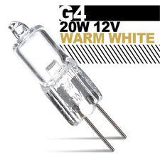 20pcs G4 Bi-pin Base JC Type Halogen Lamps Light Bulbs 12V 20W Warm White 2000hr
