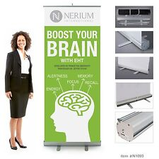 Nerium Eht Retractable Banner 7ft tall. Boost your brain.