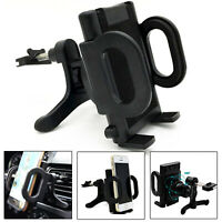 Car Phone Holder Universal 360 Rotating GPS Air Vent Clip Cradle Mount Bracket