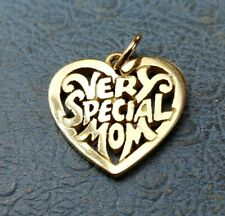 James Avery Retired 14k Very Special Mom Charm Uncut Mint Condition