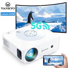 VANKYO Leisure 530W Beamer Native 1080P 5G WIFI 4K Heimkino Projektor 8000 LUX