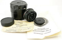 ⭐NEW⭐ KMZ INDUSTAR 50-2 50mm f/3.5 Russian Soviet USSR Pancake Lens M42 MINT