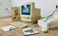 Macintosh LC 575 includes (2) Apple Desktop Bus Mouse ii and Apple Keyboard ii