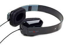 Gembird Rome Headset | FOLDING Stereo Headphones - For PC Laptop iPad in Black