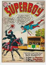 Superboy #103 VF-NM 9.0 Superman DC National Comics Time Travel Black Knight