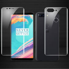 Full Coverage TPU Front & Back Soft Hydrogel Film Protector Guard For Oneplus 5T