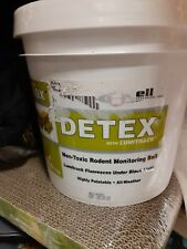 DETEX with Lumitrack Non-Toxic Monitoring & Tracking Bait For Rodents 8.8 Lbs