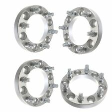 """(4) 1"""" Wheel Spacers For Chevy GMC Hummer H3 Colorado Canyon 1.5 12x1.5 Studs"""