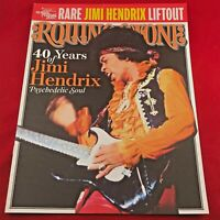 ROLLING STONE -40 Years of Jimi Hendrix Rare Liftout Sponsored by Guitar Fest 07
