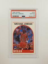 1989 Hoops #200 MICHAEL JORDAN PSA 10 GEM MINT CHICAGO BULLS AIR JORDAN