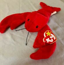 Pinchers the Lobster Ty The Beanie Babies Collection June 19, 1993 P.V.C. Pellet