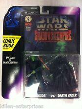 Star Wars SOTE Prince Xizor vs Darth Vader Figure Kenner 1996