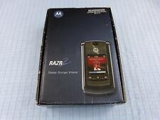 Original Motorola RAZR2 V8 Grau.Ohne Simlock! TOP! OVP! Imei gleich! RAR!