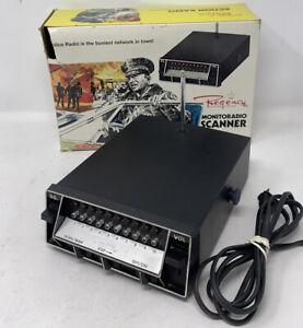 Vintage Regency ACT-R-106 10 Channel Scanner w/ Antenna & Original Box — Works!