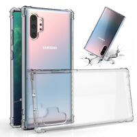 Shockproof Transparent Clear Thin Cover TPU Case for Samsung Galaxy Note 10 Plus