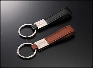HKS Keyring - Leather Black 51007-AK222