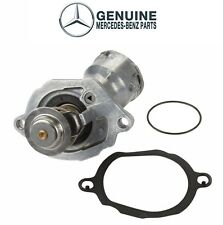 NEW Engine Coolant Thermostat with Housing & Seal OES For Mercedes W164 V6 M272