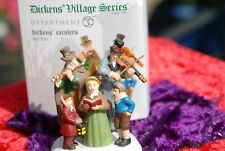 Dickens Carolers 807230 Department 56 Dickens Village Accessories Mint Cond.