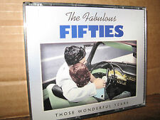 FABULOUS FIFTIES 3 CD SET THOSE WONDERFUL YEARS TONY BENNETT DEAN MARTIN