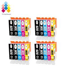 20 Ink Cartridges For Canon Pixma MG5150 MG5200 MG5250 MG5350 MG6150 MG8250