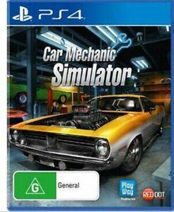 Car Mechanic Simulator PS4  VERY GOOD FREE POST + TRACKING!