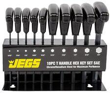 JEGS 80710 T-Handle Hex Key Set