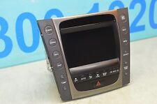 2007 S190 LEXUS GS350 GS430 NAVIGATION SCREEN DISPLAY AUDIO CLIMATE 86111-30620