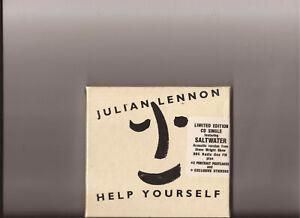 Julien lennon - Help Yourself  ( CD + Postcards + Stickers  - SEALED )