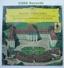DG 138 815-Mozart-Sinfonías 40 & 41 Bohm Berlín Po-ex con Disco Lp