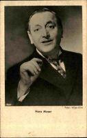 Actor Schauspieler Kino Film Theater V.: ROSS ~1930 Porträt-Foto HANS MOSER