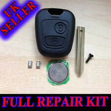 CITROEN SAXO BERLINGO PICASSO 2 BUTTON KEY FOB REMOTE FULL REPAIR KIT