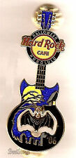 NEW LE 200 Hard Rock Cafe Honolulu Hawaii HALLOWEEN PIN Guitar Bat Graveyard 06