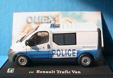 RENAULT TRAFIC 2 DCI100 TOLE POLICE MUNICIPALE LILLE OLIEX 1/43 CARARAMA VAN