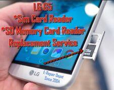 LG G5 Sim Card Reader SD Memory Card Repair Slot Tray Replacement Service
