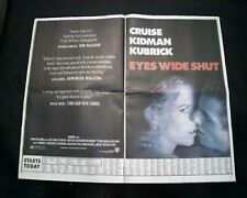 Best Eyes Wide Shut Film Movie Opening Day Ad Review 1999 Los Angeles Newspaper