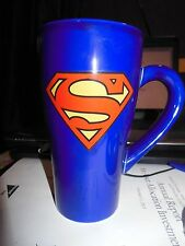 Superman Coffee  Mug -- Tall 16 Oz ***Free  Shipping ***
