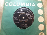 """Peter and Gordon – Nobody I Know 1964 7"""" Columbia DB 7292"""