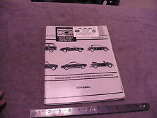 1994 West Coast Metric Inc VW Parts Catalog #11