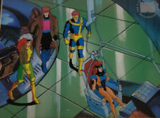 Marvel:X-Men Gambit,Rogue,Cyclops,Jean Grey Limited Edition Seri Cel Framed
