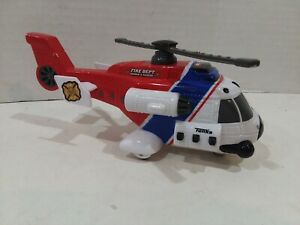 Tonka Light Sound Fire Department Search & Rescue Helicopter Hasbro 2012