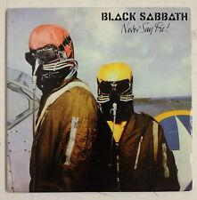 """Black Sabbath  Never Say Die! Cd-Single UK edición """"Vinyl Replica"""""""