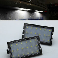 2x Error Free LED License Plate light for Land Range Rover Sport L320 2005-2013