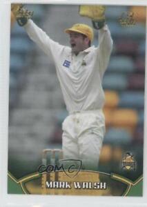 2002 Topps ACB Gold Cricket Mark Walsh #70