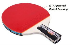 Double Fish Prof. Wood Blade Table Tennis Racquet 3A (Penhold) USA Seller