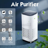Car Air Purifier Anion Purification Sterilization USB Charging Home Air