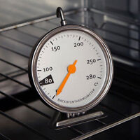 Stainless Steel Baking Oven Thermometer Home Kitchen Food Meat Cooking 50-280℃